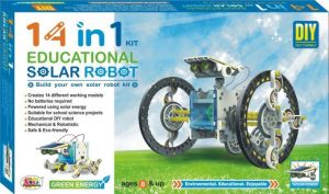 14in1 Educational Solar Robot Diy Kit