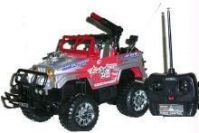 Remote Controlled Jeep With Rechargeable Battery