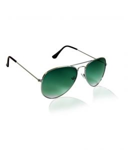 Danny Daze Classy Green Lens Aviator Sunglasses For Men & Women