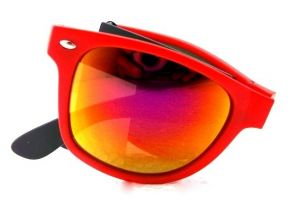 Folding Mirror Sunglasses-5643667665