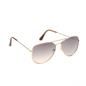 Camerii Grey Aviators Sunglasses