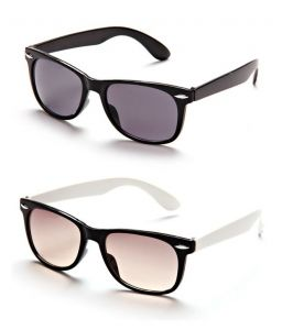 Black Frame Wayfarer Sunglasses - Buy 1 Get 1 Free