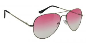 Stylish Silver Aviator Men Sunglasses By Royal Td10046