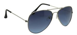Stylish Silver Aviator Men Sunglasses By Royal Td10064