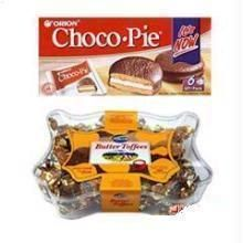 Chocopie Chocolates + Pack Of Butter Toffees