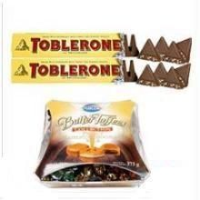 Toblerone Chocolates + Butter Toffee Pack