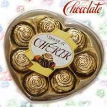 Pack Of 8 Cherir Crunchy Hazelnut Chocolates