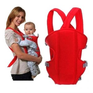 Soft Adjustable 4-in-1 Baby Carrier With Comfortable Head Support And Buckle Straps (code - Bb Cr 09 A)