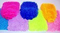 Set Of 10 Microfiber Dusting And Washing Gloves