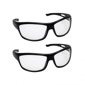 Quoface Day And Night Vision Transparent Sunglass Bike Goggles- Pack Of 2(product Code)qf-comnv703w2