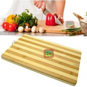 Eci - Healthy Bamboo Wood Chopping Cutting Board, Kitchen Wooden Chop & Cut