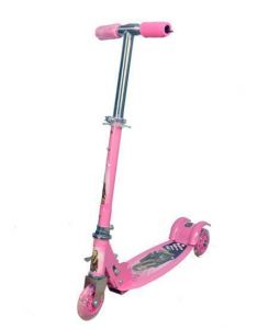 Portable 3 Wheels Kids Scooter ( Pink )