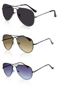 Black,brown And Blue Aviators Combo
