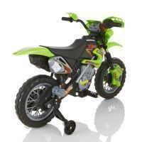 Abi Dirt Battery Operated Bike For Kids Green