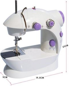 Kawachi,Sg,Genius Electronics - Mini Silai Machine Electric Stitching Home Sewing Machine