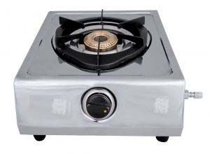 Sigma Single Burner Steel P/s Gas Stove