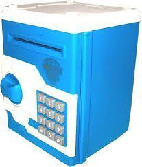 Kids Toy Money Safe Bank With Electronic Locks