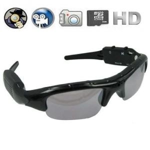 Machsmart Pinhole Hidden Video Recorder Dvr Sunglasses Camera W/ Micro SD S