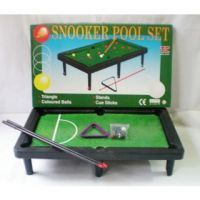 Board Games - Snooker Pool Set For Kids Game