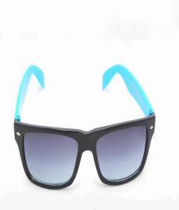 Sunglass Wayfarer Black-blue