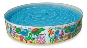 Kids Swimming Pool 6 Feet For Kids And Adults For Home Garden Farmhouse