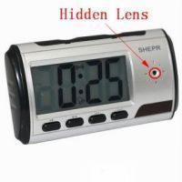 Spy Camera Table Clock 8 GB Micro SD Card