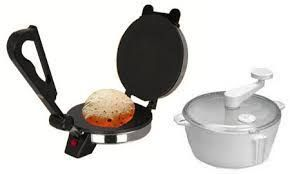 Electric Roti / Chapati Maker & Dough Maker Premium