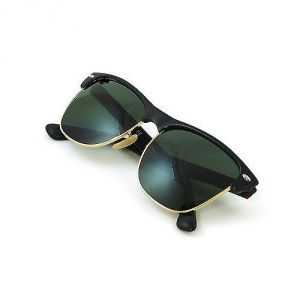 EDGE Plus Club Star Black Sunglasses In Black