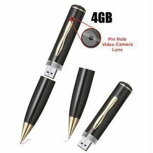 4GB Spy Pen With Inbuilt Memory
