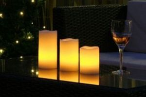 Cpcn 12 Color-changing LED Candles With Remote Control