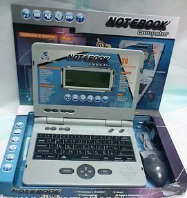 Children Notebook Computer Chargeable Laptop