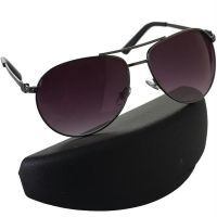 Premium Black Aviator Sunglasses