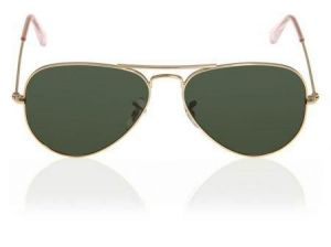 Golden High Quality Aviator Sunglasses
