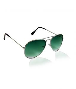 Jewel Fuel Stylish Green Aviator Sunglasses