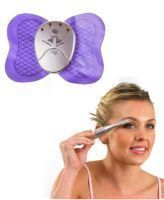 Electronic Slimming Butterfly Body Massager With Eyebrow Trimmer And Shaper