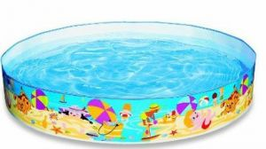 New Snapset Baby Pool Inflatable Baby Bath Ring Fun & Play