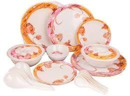 Premium Quality Melamine Dinner Set 32 PCs