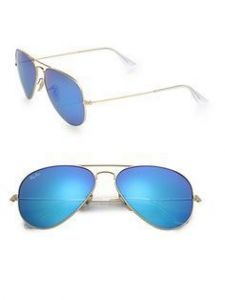 Stylish Blue Mirror Sunglasses