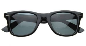 Trendy Vintage Look Wayfarer Sunglass Without Hard Case