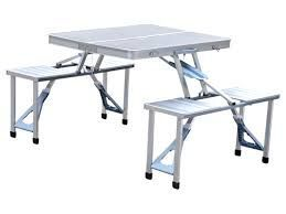 Outdoor Furniture - Aluminium Picnic Table