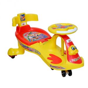 Harry & Honey Baby Magic Car 7811 (with Back Support) Yellow