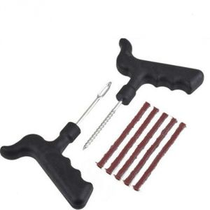 Shoppingekart Metal And Plastic Car Bike Tubeless Tyre Puncture Repair Kit - (code -s-1118)