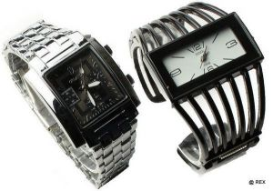 Stylish Combo - Mens Watch And Ladies Watch -079
