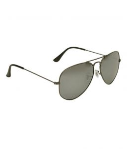 Hawai Metallic Black Polarised Aviators