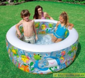 Intex Inflatable Aquarium Pool