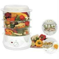 Electric Food Steamer Multi Steam Cooker