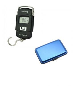 50kg Digital Weighing Scale With Free Blue Aluma Wallet