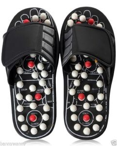 Health & Fitness (Misc) - Accu Paduka Foot Massager Acupressure Massage Slippers