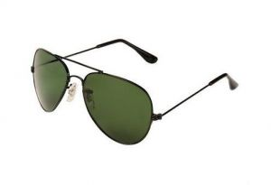 Abqa Green Aviator Sun-glass With Black Frame Hitblsgslfm01