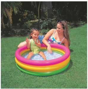 Intex Home Decor ,Kitchen  - Intex Inflatable Baby Swimming Pool 2 Feet